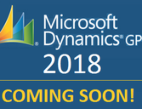 What's New in Microsoft Dynamics GP 2018?