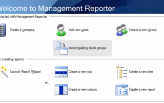 Management Reporter