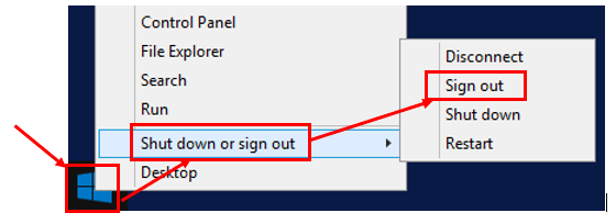 Second, when logged out of GP, sign out of the cloud or server.